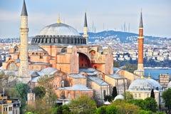Museum Hagia Sophia u. x28; Ayasofya Muzesi& x29; in Istanbul die Türkei lizenzfreie stockbilder