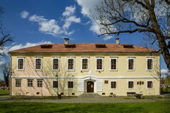 Museum of history and archeology  on April 23, 2021 in Targu-Mures.