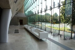 Museum of the History of Polish Jews Stock Image