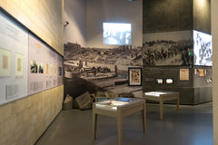 Museum of the History  Polish Jews Stock Photos