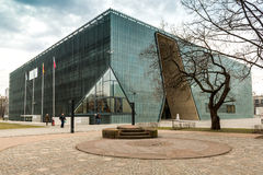 Museum of the History  Polish Jews Stock Photography