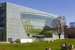 Museum of the History of Polish Jews Royalty Free Stock Images