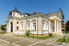 Museum Of History Teodor Cincu In Tecuci. TECUCI, ROMANIA - JULY 25, 2015: Built in XIX-Century The Museum Of History Teodor Cincu is One Of The Largest Stock Images