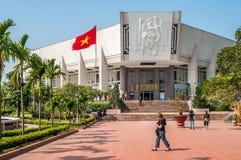 Museum Ho Chi Minh. Ho Chi Minh Museum - Hanoi Royalty Free Stock Photography