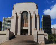 The museum in hyde park,sydney,australia Stock Photography