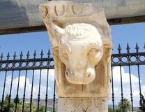 Museum i Hierapolis (Turkiet) Arkivbild