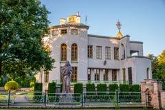 Museum i Kernave royaltyfria foton