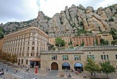 Museum i Montserrat Abbey, Spanien Arkivfoton