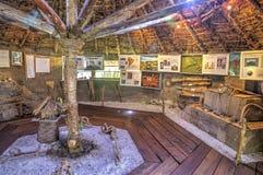 Museum interior of indigenous cultures Stock Photos
