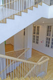 Museum interior stairs Stock Image