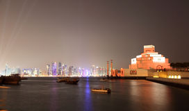 Museum of Islamic Art in Doha Stock Image