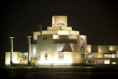 Museum of Islamic Art Doha. The newly constructed Museum of Islamic Art located on the corniche in Doha, Qatar stock image