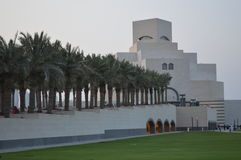 Museum of Islamic Art, Doha. The Museum of Islamic Art  is a museum located on one end of the seven kilometers long Corniche in the Qatari capital, Doha. As with Stock Photography