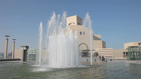Museum of Islamic Art in Doha. Qatar stock video