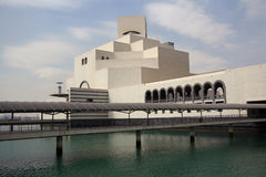 Museum of Islamic Art in Doha, Qatar Stock Image