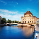 Museum island in Berlin on river Spree Stock Photography