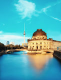 Museum island in Berlin on river Spree Royalty Free Stock Photo