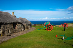 Museum of Island Life. Skye Museum of Island Life royalty free stock images