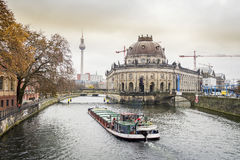 Museum island and river Spree, Berlin Stock Photography