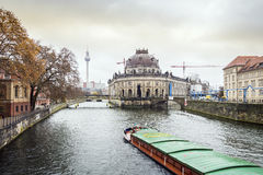 Museum island and river Spree, Berlin Royalty Free Stock Photography