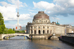 Museum Island on Spree river, Berlin royalty free stock images