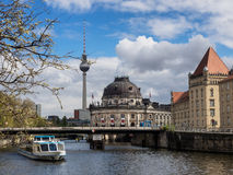 Museum island on Spree river Berlin, Germany Royalty Free Stock Photos