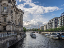 Museum island on Spree river Berlin, Germany Royalty Free Stock Images
