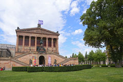 Museum Island which includes Alte Nationalgalerie (Old National Gallery), Royalty Free Stock Photos