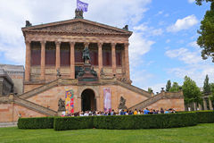 Museum Island which includes Alte Nationalgalerie (Old National Gallery), Royalty Free Stock Photo