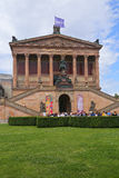 Museum Island which includes Alte Nationalgalerie (Old National Gallery), Stock Images