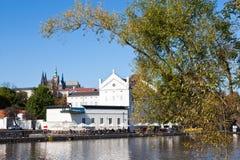 Museum Kampa, Praag (Unesco), Tsjechische republiek Stock Foto's