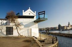 Museum Kampa - Prague stock images
