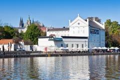 Museum Kampa, Prague (UNESCO), Tjeckien Arkivbild