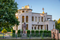 Museum in Kernave royalty-vrije stock foto's