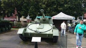 Museum Kołobrzeg Polen Panzer ussr stock image