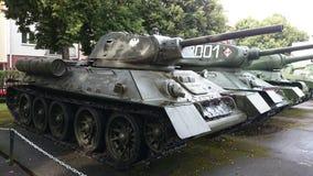 Museum Kołobrzeg Polen Panzer ussr Royalty Free Stock Images