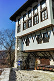 Museum The Kordopulov House in ancient Melnik town and The sand pyramids, Bulgaria Royalty Free Stock Images