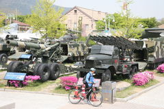 Museum of the Korean war in Seoul royalty free stock photo