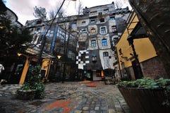 Museum Kunst Haus - Ansicht vom Garten Lizenzfreies Stockfoto