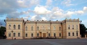 Museum of lace in Vologda. Vologda, Kremlin square. The museum of lace. Vologda is famous for its lace stock image