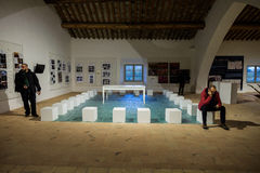 Museum of land and river landscapes of Colorno, Emilia Romagna, Royalty Free Stock Photo