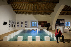 Museum of land and river landscapes of Colorno, Emilia Romagna, Stock Photos
