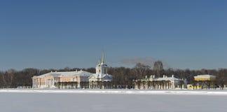 Museum-landgoed van Telling Sheremetev royalty-vrije stock fotografie