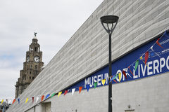 Museum of Liverpool on Albert Dock in Liverpool Merseyside England Stock Photography