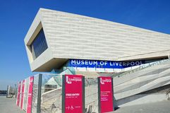 Museum of Liverpool. Royalty Free Stock Images