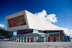 The Museum of Liverpool Royalty Free Stock Photos
