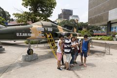 War Remnants Museum in Ho Chi Minh, Vietnam Stock Photography