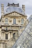Museum of the Louvre in Paris, France Stock Photography