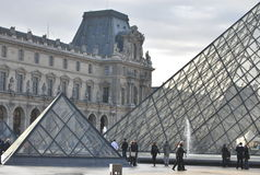 Museum of Louvre in Paris Stock Photography