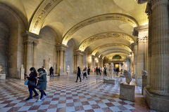 Museum Louvre, Paris Stock Images